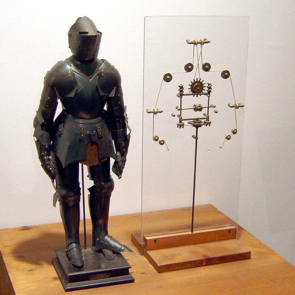 機械專家Mark Rosheim根據手稿內容把達文西的機械人重構成模型。Rosheim更利用背後的一些概念為美國NASA設計行星探測機器人。