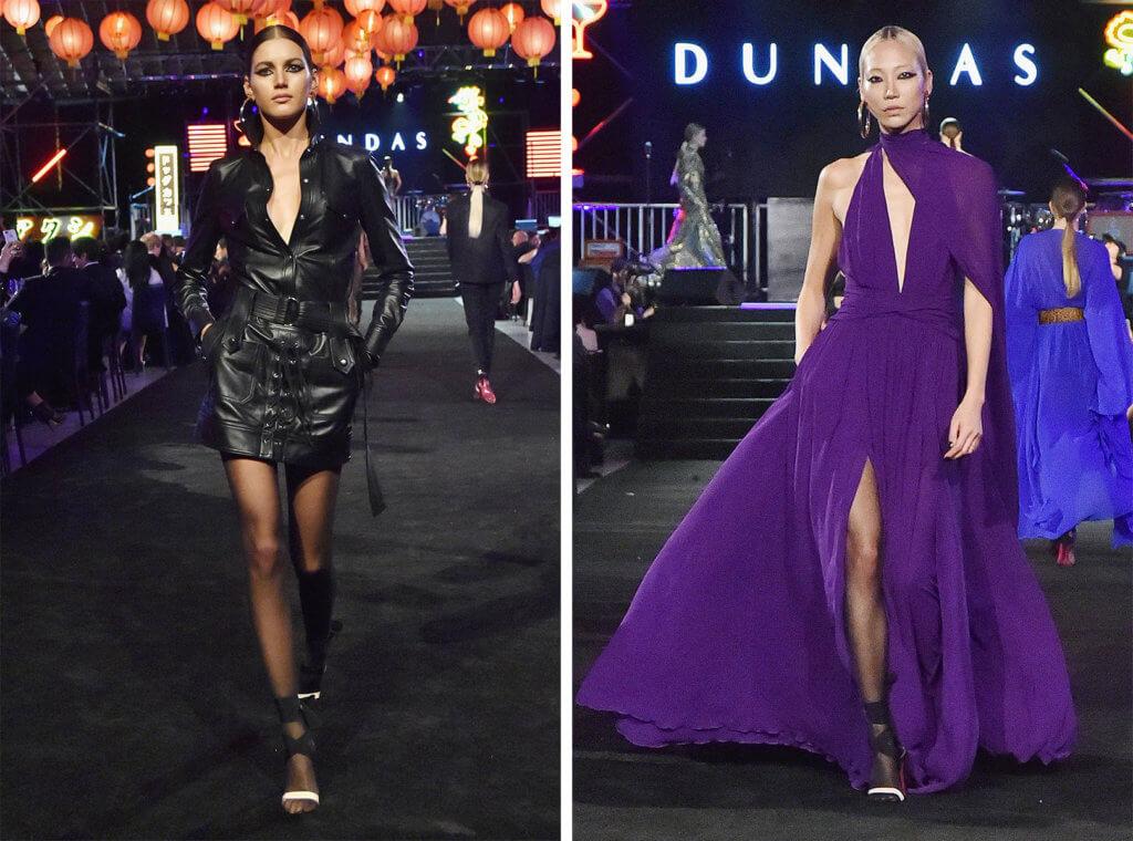 Dundas首個Haute Couture系列中的皮衣和真絲晚裝似曾相識,原創和創意欠奉,幾乎能輕易從其他品牌的成衣系列中找到。