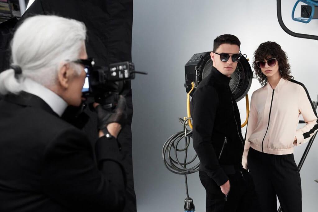 自1987年Karl Lagerfeld首次拿起相機的那一刻開始,就似乎瞬間激發了這位藝術天才的第二樣才能。