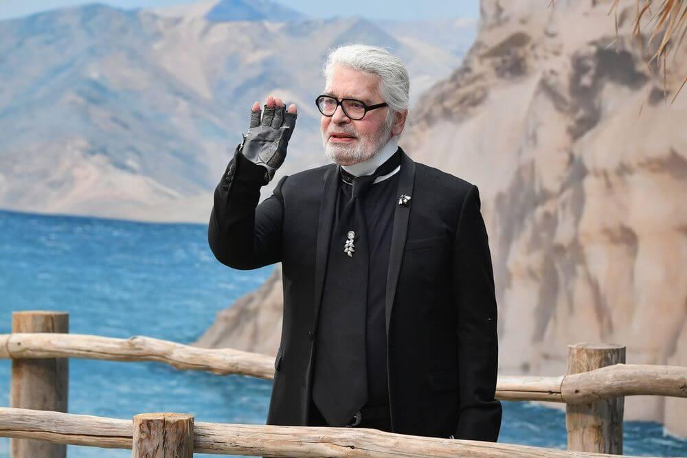 Karl Lagerfeld近年明顯憔悴了不錯。