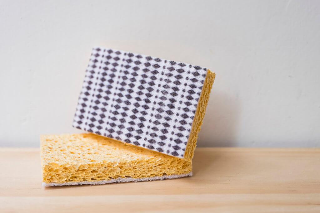 它是由植物纖維製成的海棉,可以天然分解。