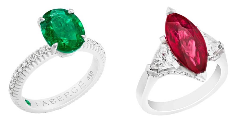 Gemfields於2013收購歷史悠久的珠寶品牌Fabergé,旨在由開採、設計至銷售整個過程都公開透明,Fabergé所有紅、綠寶石均出自Gemfields。