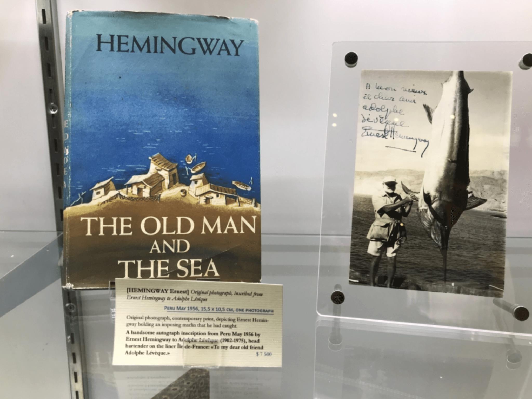 海明威和馬林魚