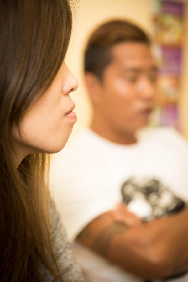 子女給予畯豪和凱妍無比信念,即使戒毒後曾遇上引誘,意志仍不動搖。