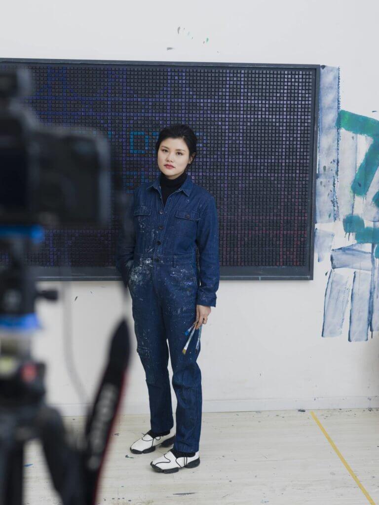 中國當代藝術家李姝睿,受Dior邀請參與《Lady Dior As Seen By》展覽,並在Art Basel展出。