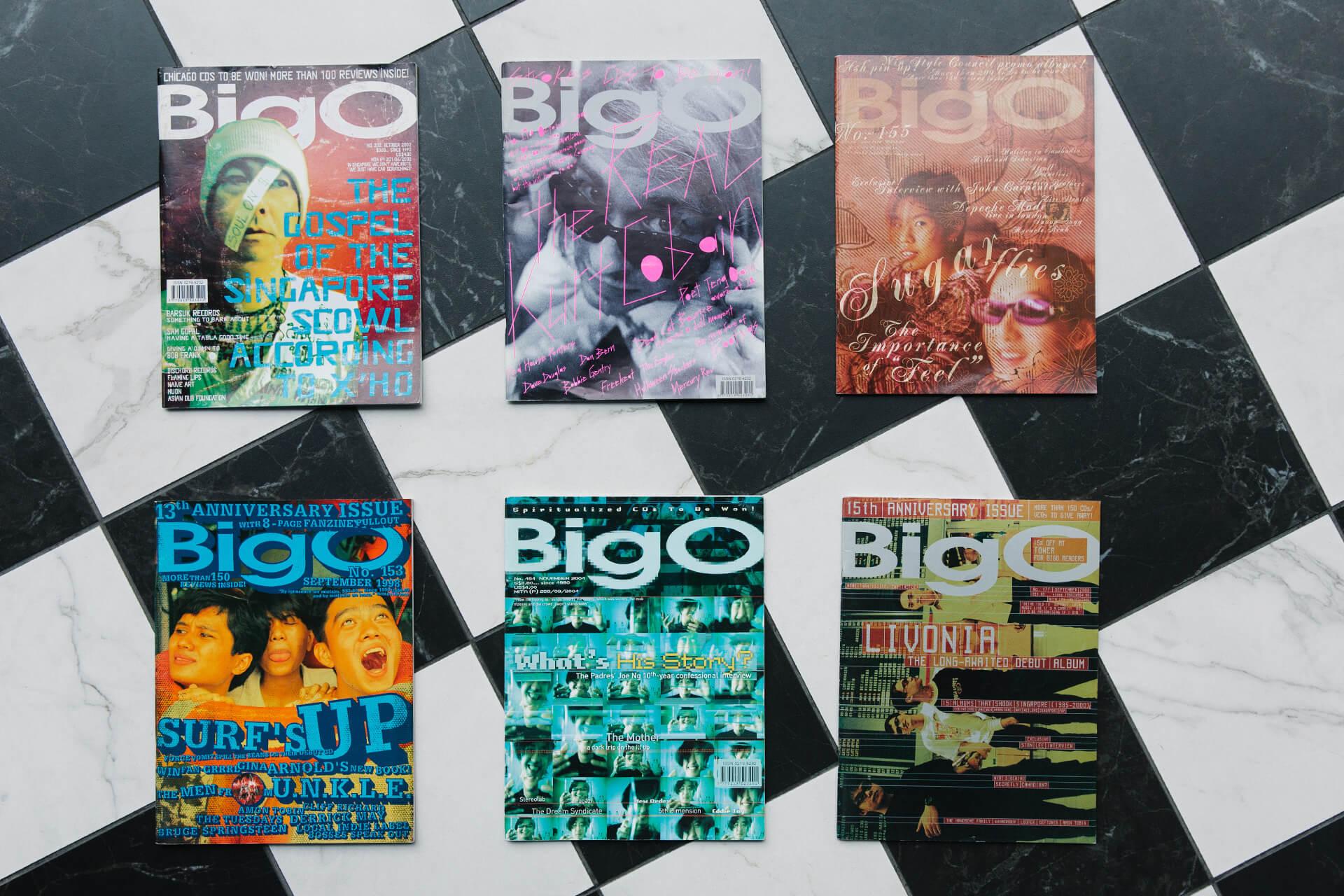 《Big O Magazine》是上世紀九十年代的新加坡獨立音樂刊物。