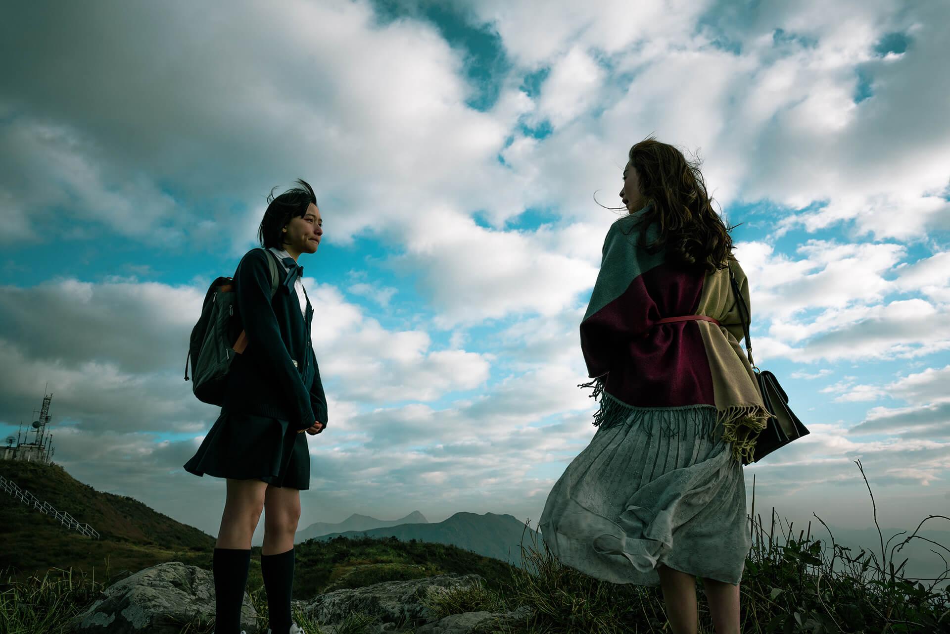 《G殺》陳漢娜飾演的「G」及其母親(由楊卓娜飾演)感情深厚,後者過世後為G的生活帶來巨變。(圖片由作者提供)