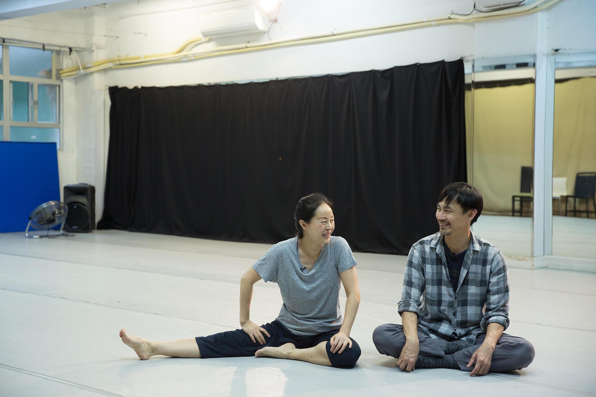 不再是年輕舞者,怎樣跳一齣沒有高難度動作的雙人舞,是一道新課題。