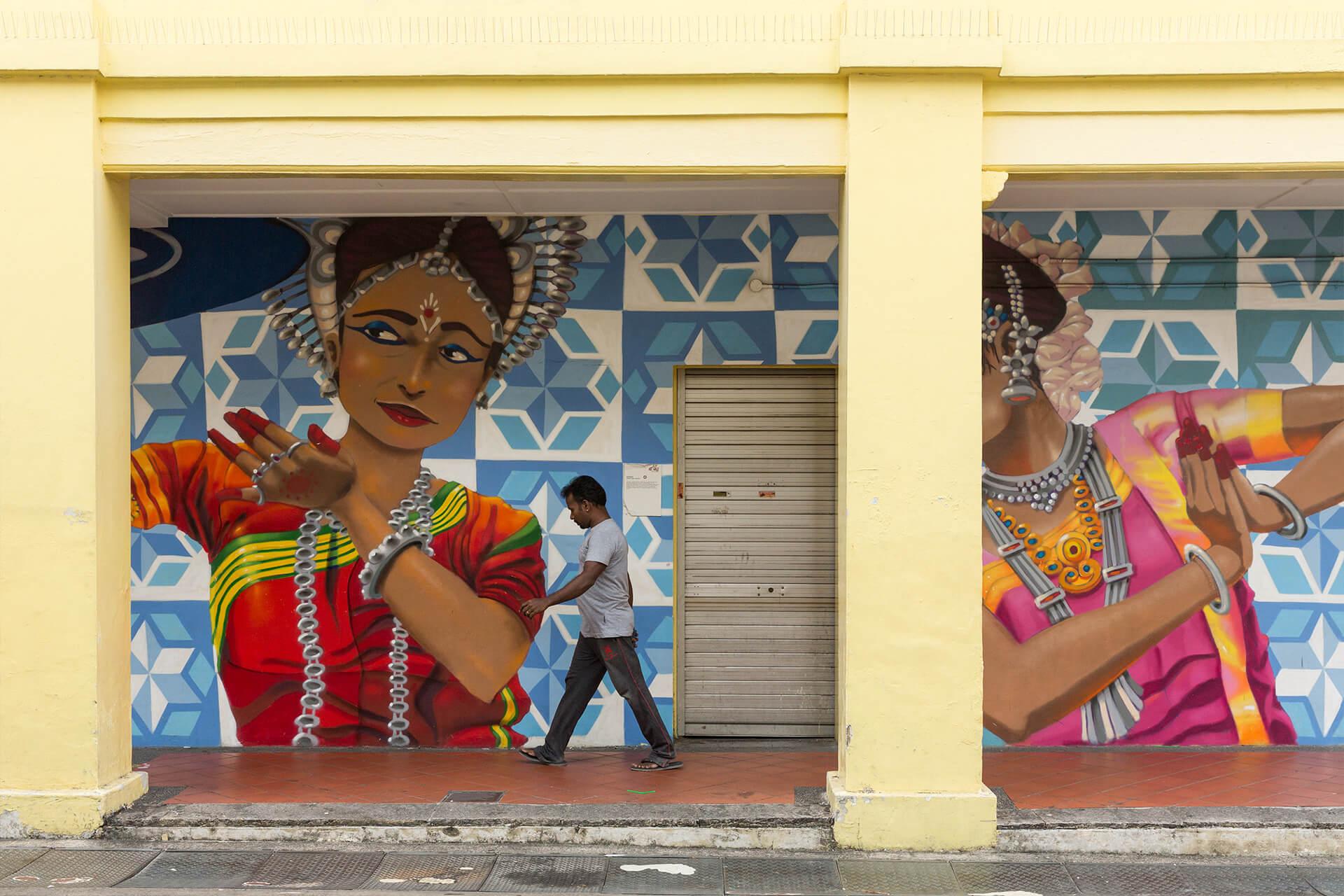 新加坡的小印度,是新加坡文化旅遊新熱點,而這種有地區特色的文化區域,跟藝博會互相依存。