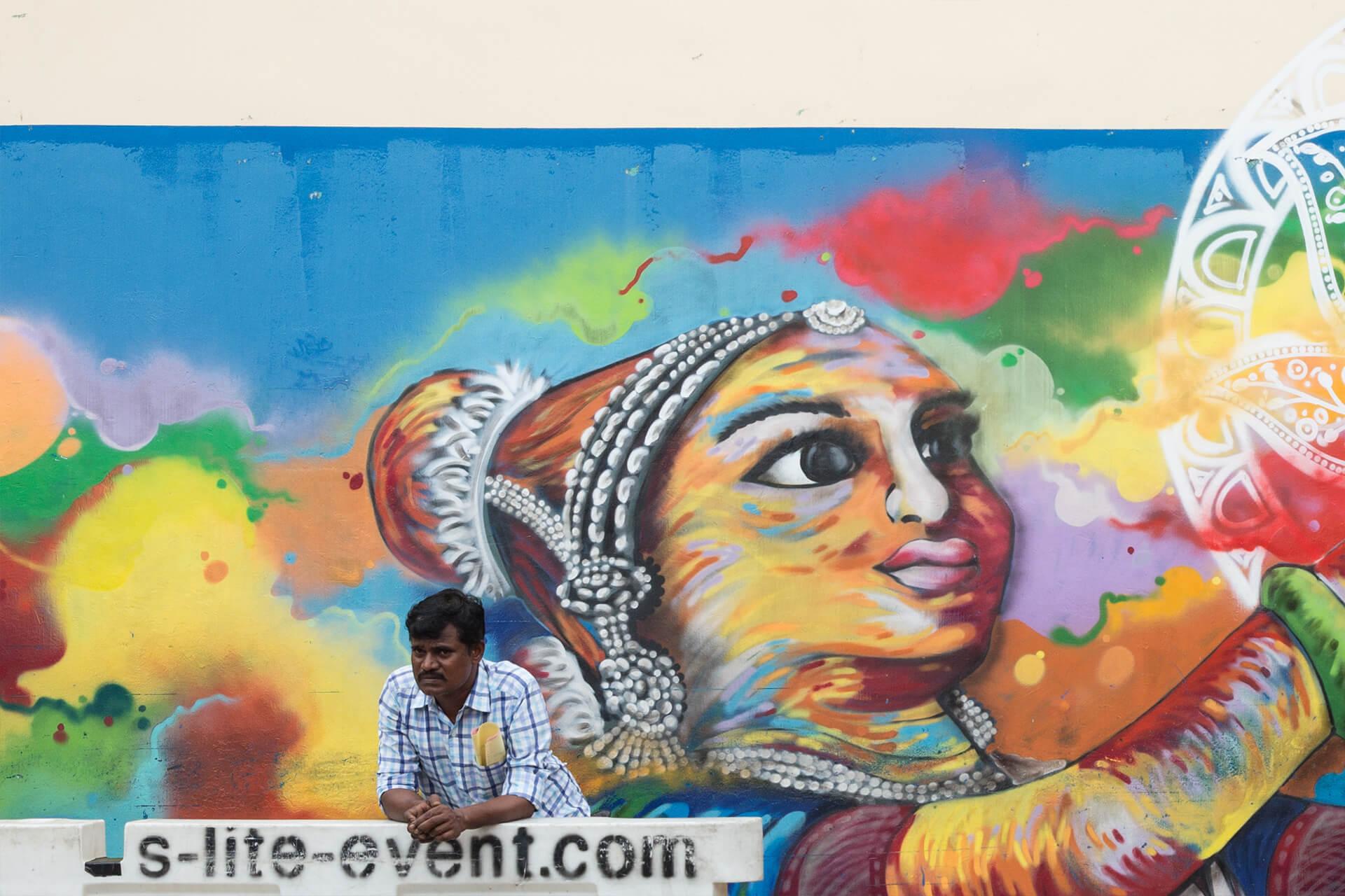 小印度是印度裔新加坡人的集中地