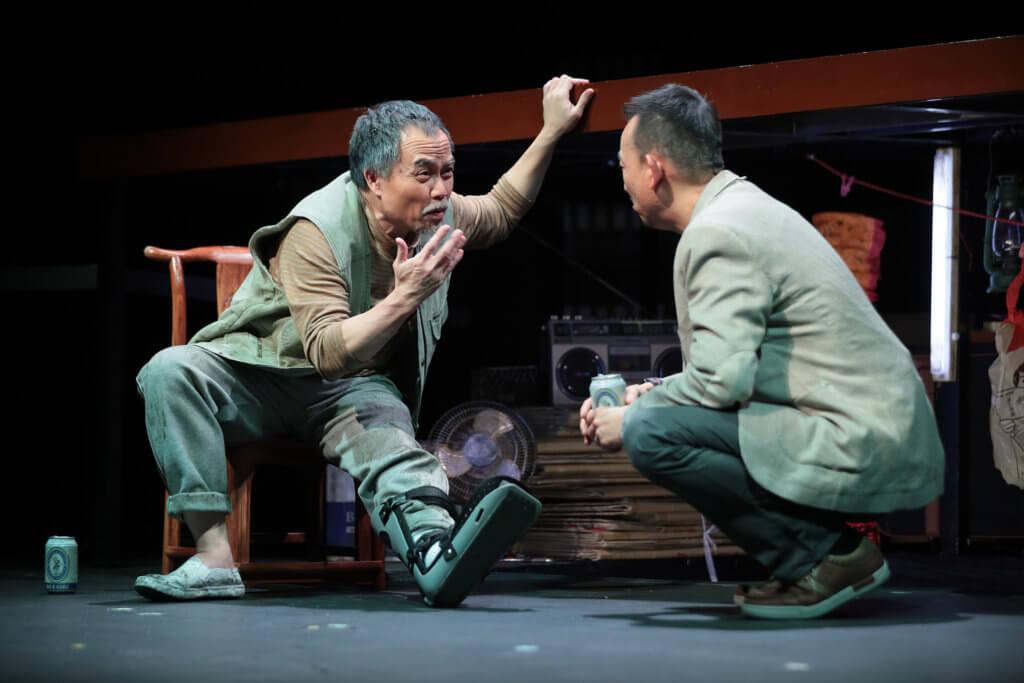 《九江》劇照由香港藝術節提供