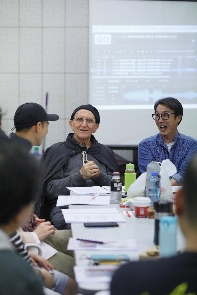 恩保德神父是音樂劇的發起人,劉松仁打算未來七至十年把此劇作巡迴演出,其中一站可能是澳門大三巴,因為澳門是利瑪竇來到遠東第一站。(Cheung Chi Wai攝)