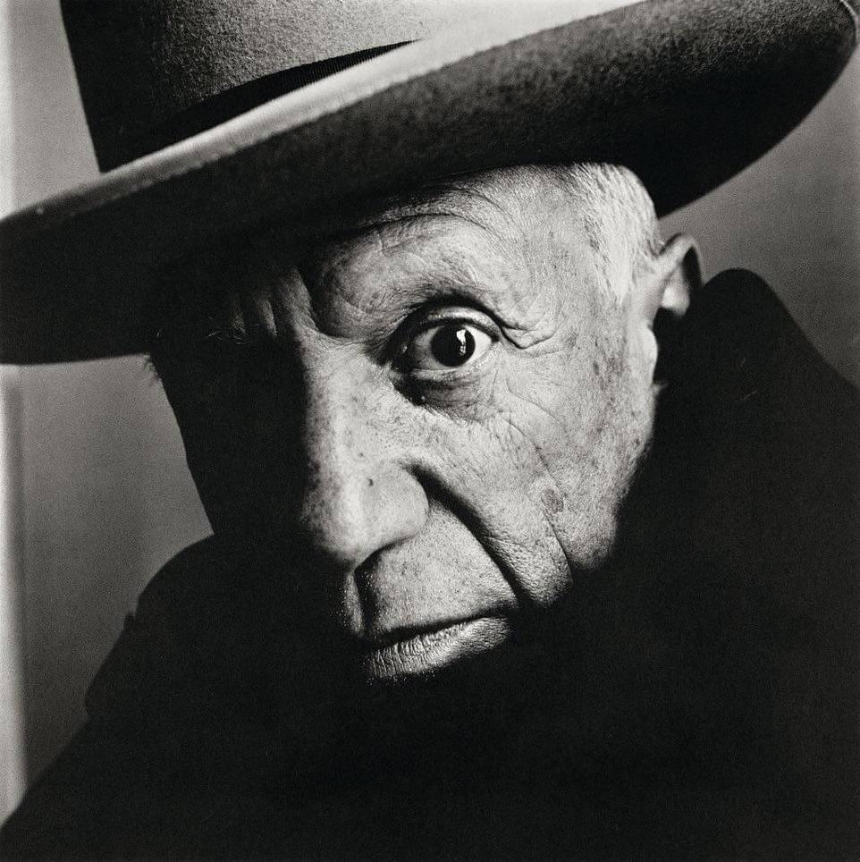 Penn的人像作品簡潔不浮誇,今次展覽只展出一幅標誌性的畢加索作品。