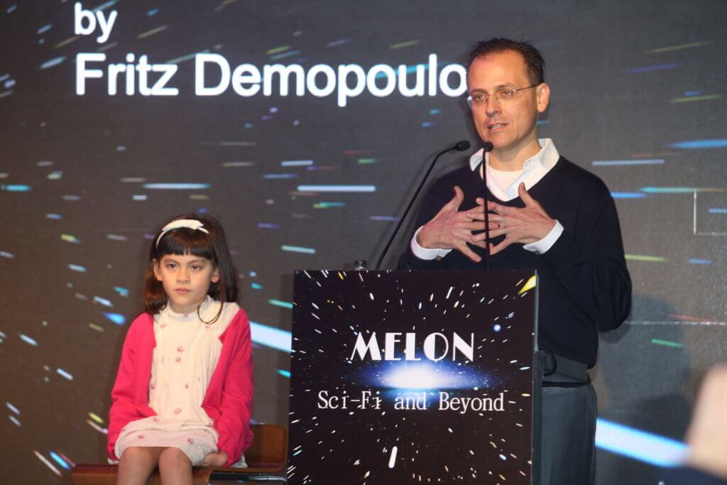 活動創辦人Fritz Demopoulos(右)