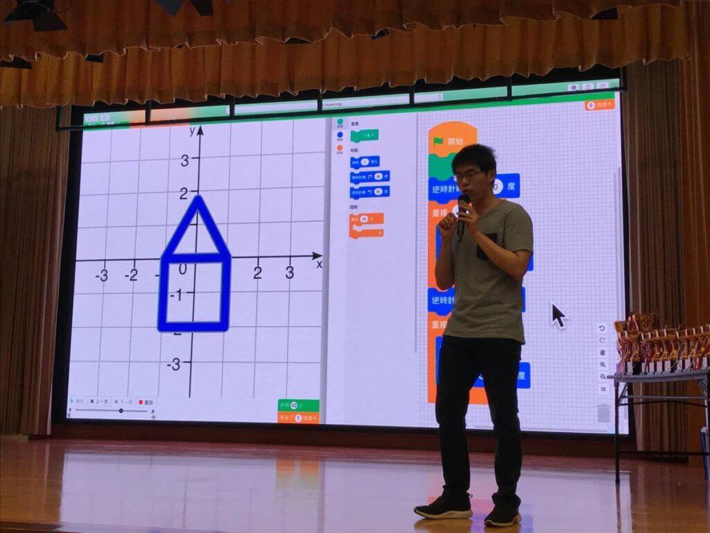 決賽過後,擁有過往比賽經驗的嘉賓為同學講解每題的竅門秘訣,讓大家能從中學習,再接再厲。