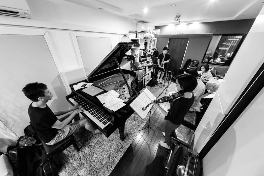 途樂團有十多位成員,人數眾多需要租場才能排練。(圖片由受訪者提供)
