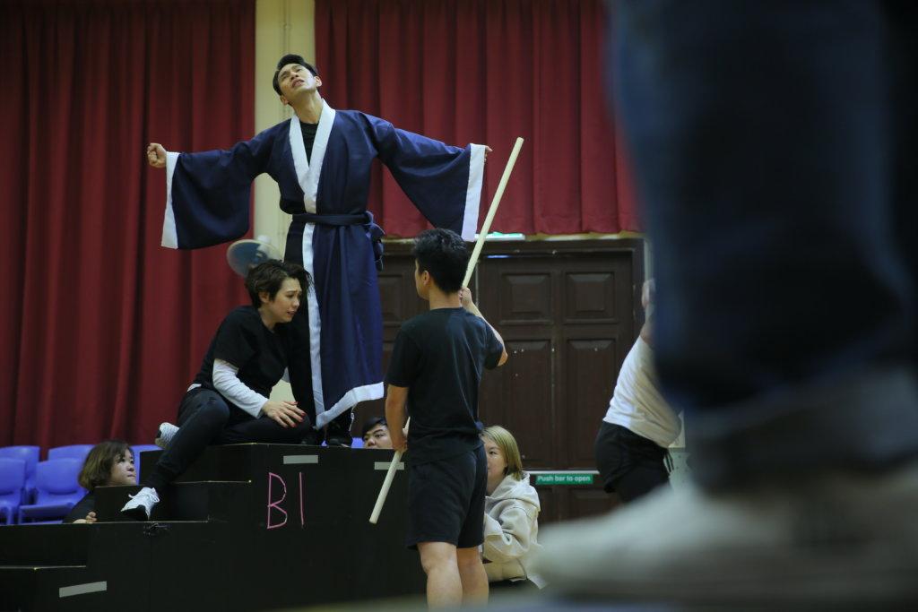 陳潔儀繹演女主角蘇小妹(Cheung Chi Wai攝)