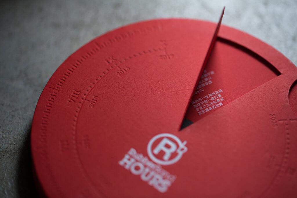 《Hours》(2018年)是RubberBand出道十周年紀念大碟,模仿日晷設計。