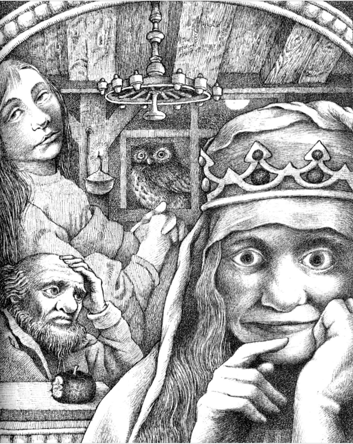 白雪公主與皇后