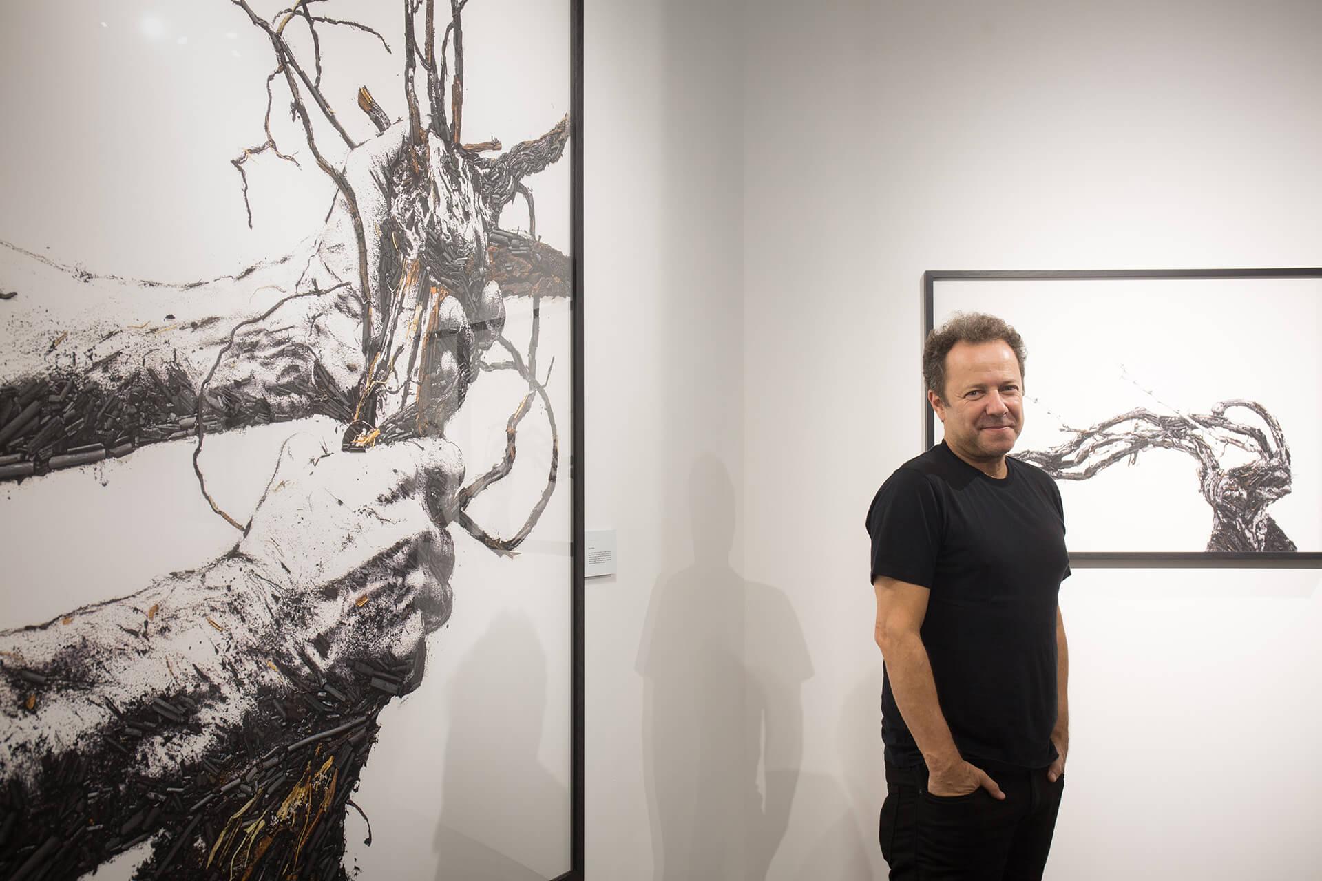 巴西藝術家Vik Muniz喜歡觀察大自然,今年帶同他的作品到Art Basel參展。
