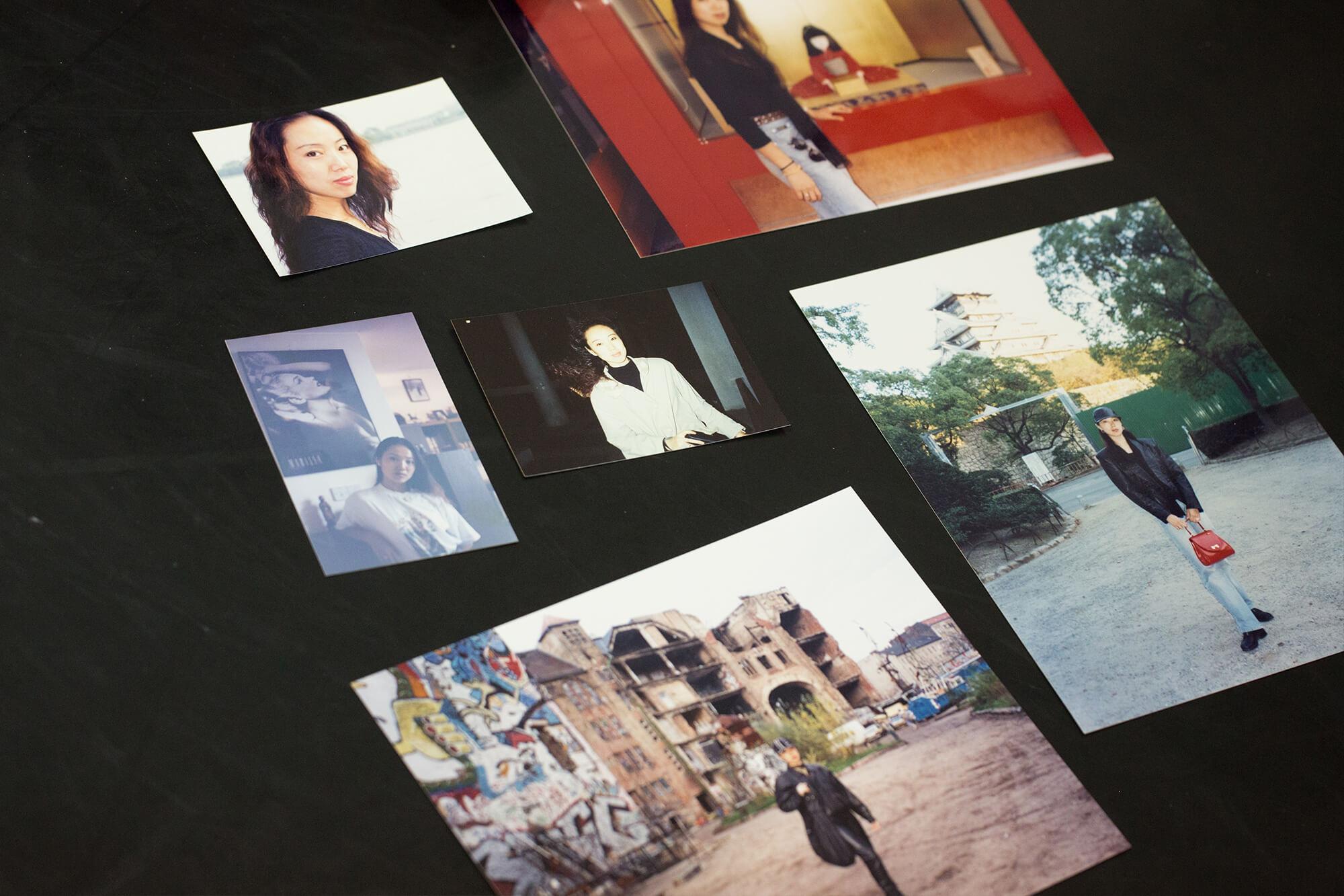 編舞周書毅從喬楊的舊照片中,尋找「線索」,了解她的成長。