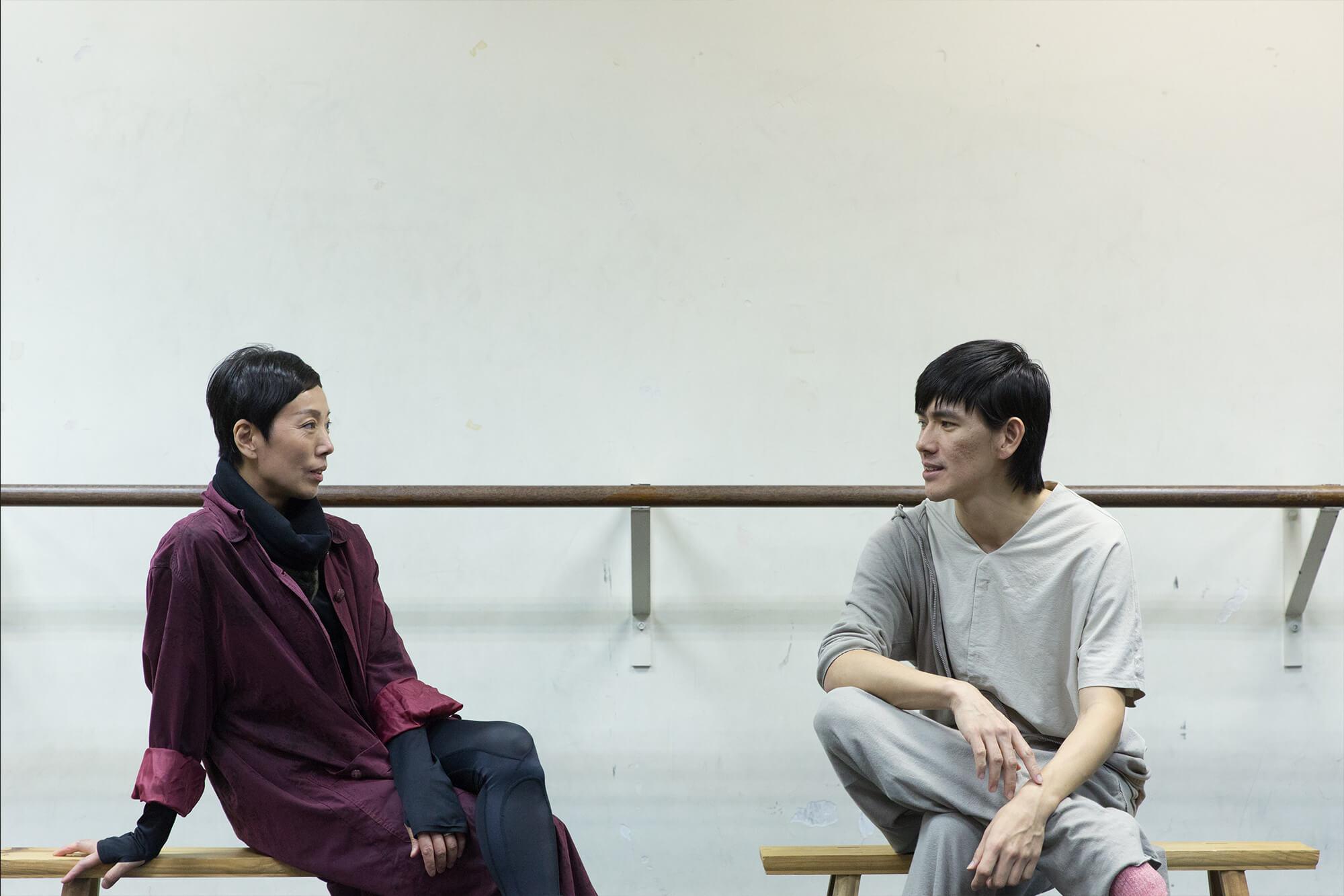 CCDC平常的舞作只有二至三個月的製作期,但喬楊(左)跟周書毅(右)的首次合作,破天荒花了超過一年的時間創作。
