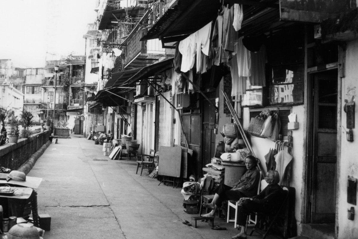 1992年的永利街(圖片由高添強先生提供)