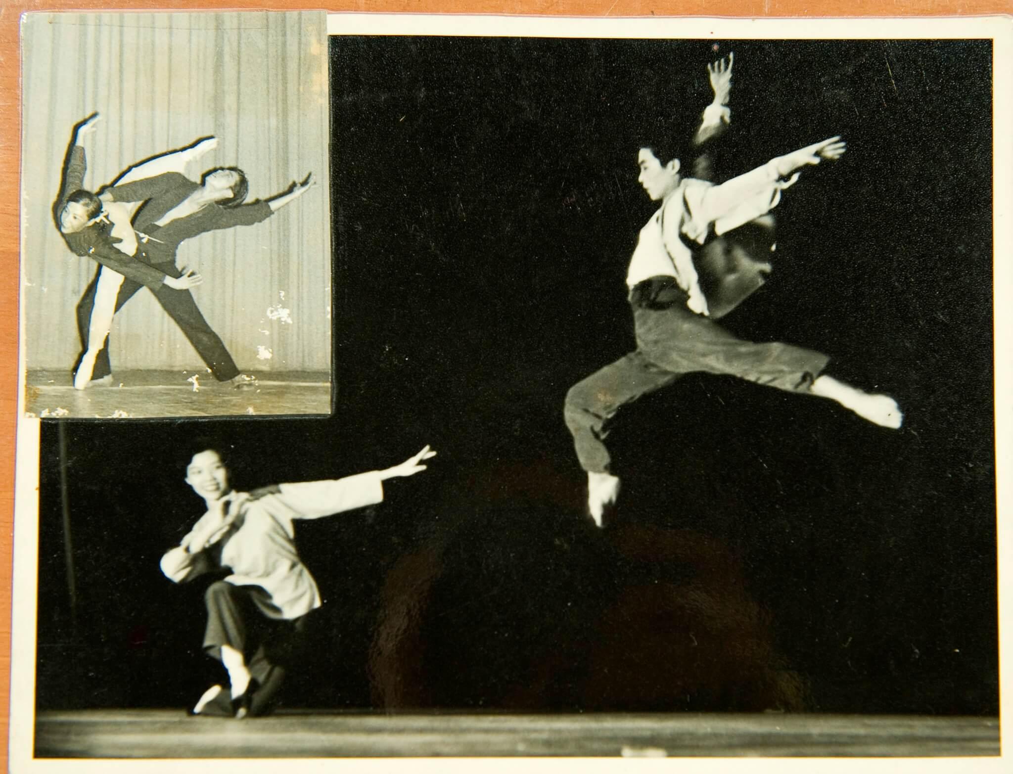 1963年,劉兆銘於香港大會堂演出《海戀》。