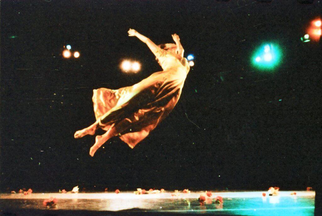 《春之祭》於1992年在香港文化中心音樂廳首演。〈相片由CCDC提供)