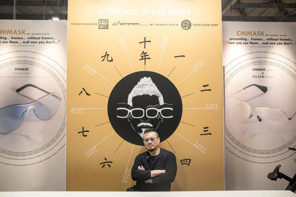 Simon Chim十年前創立眼鏡品牌Chimmm