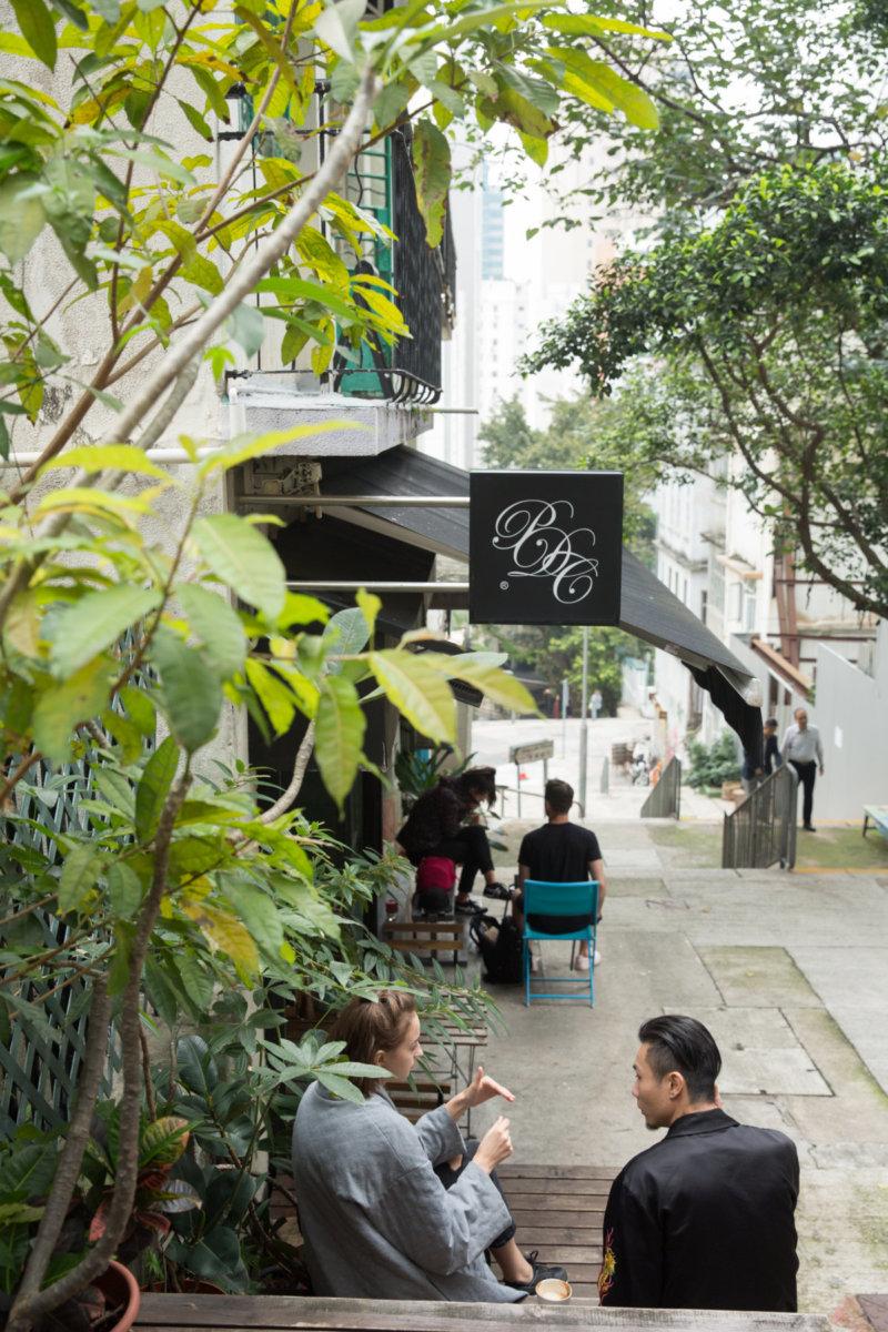 Common Ground咖啡店是區內一個時尚聚腳點,令社區有個舒泰的戶外空間。