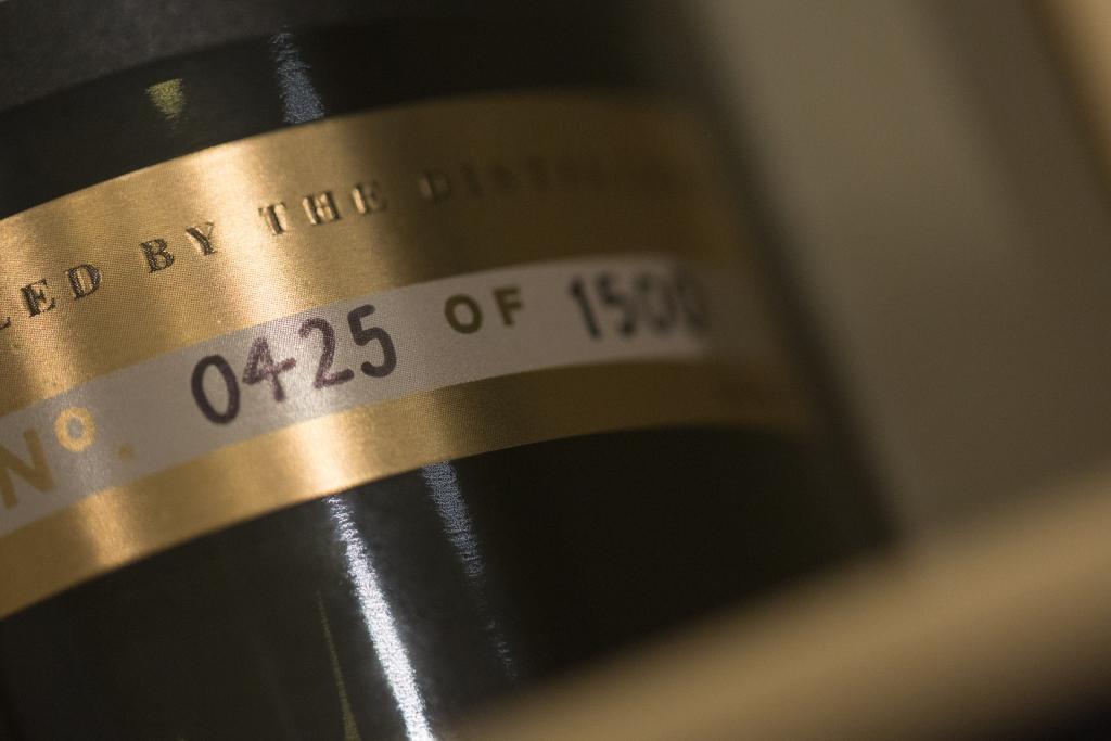 威士忌 限量1,500支