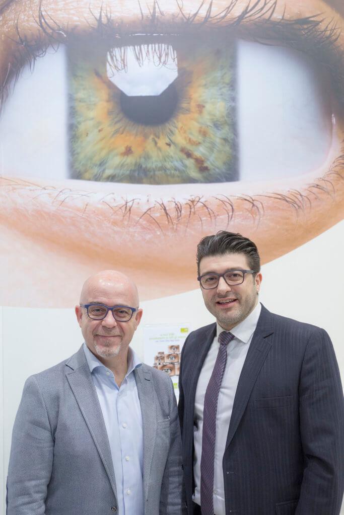 Félix S. España(左)與Dr. Ir. Alireza Parandian