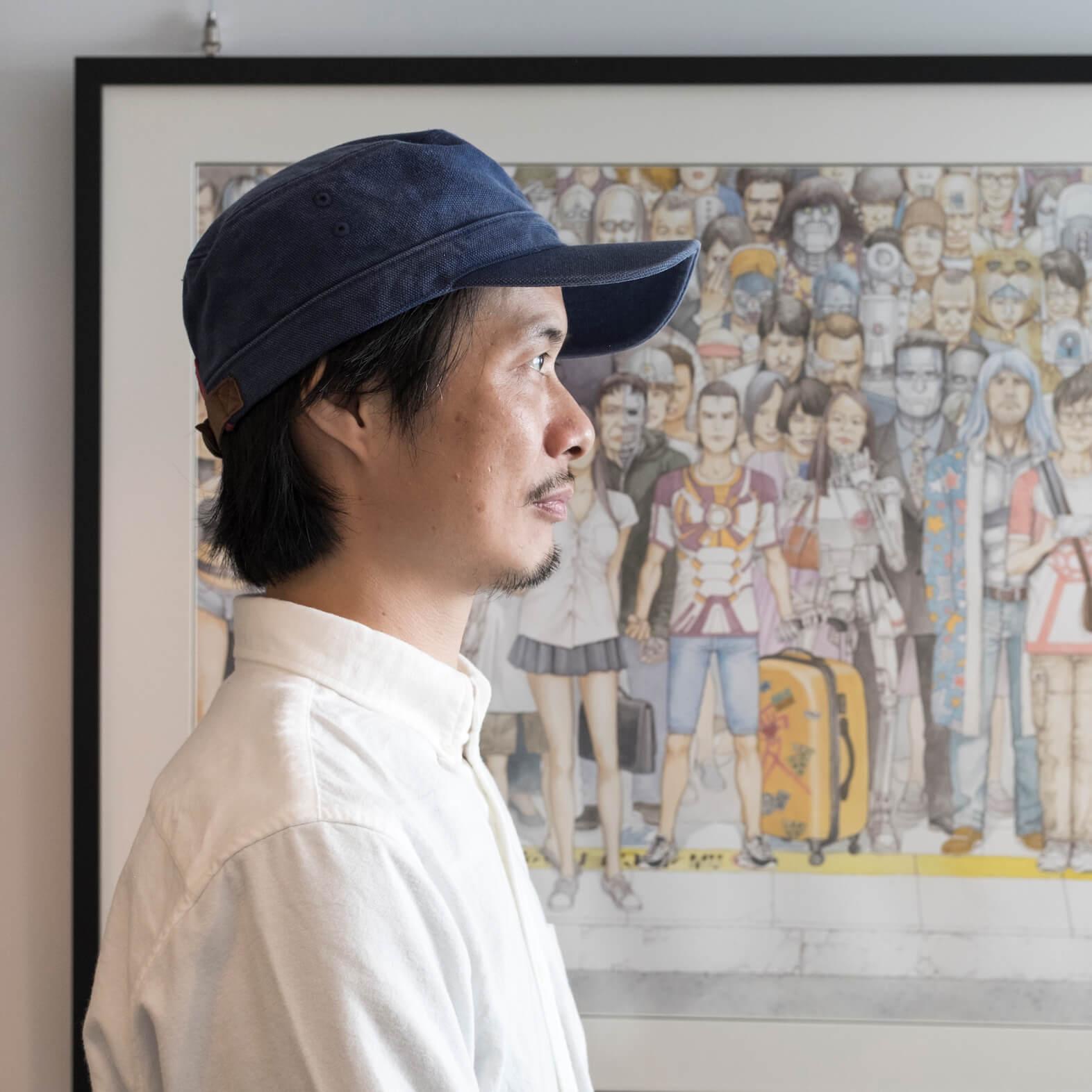 謝森龍異曾推出多部以喪屍為題材的漫畫作品,包括《不是人間》及《香港感染》。