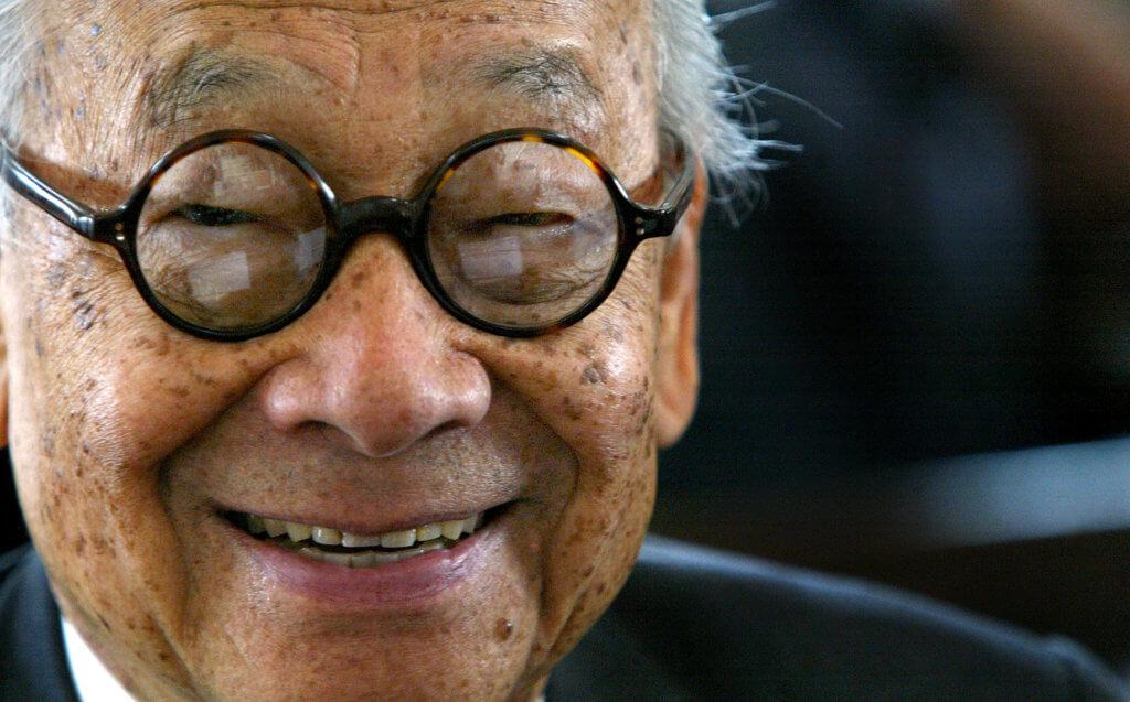 被稱為「現代主義建築的最後大師」的美藉華裔建築師貝聿銘,享年102歲。