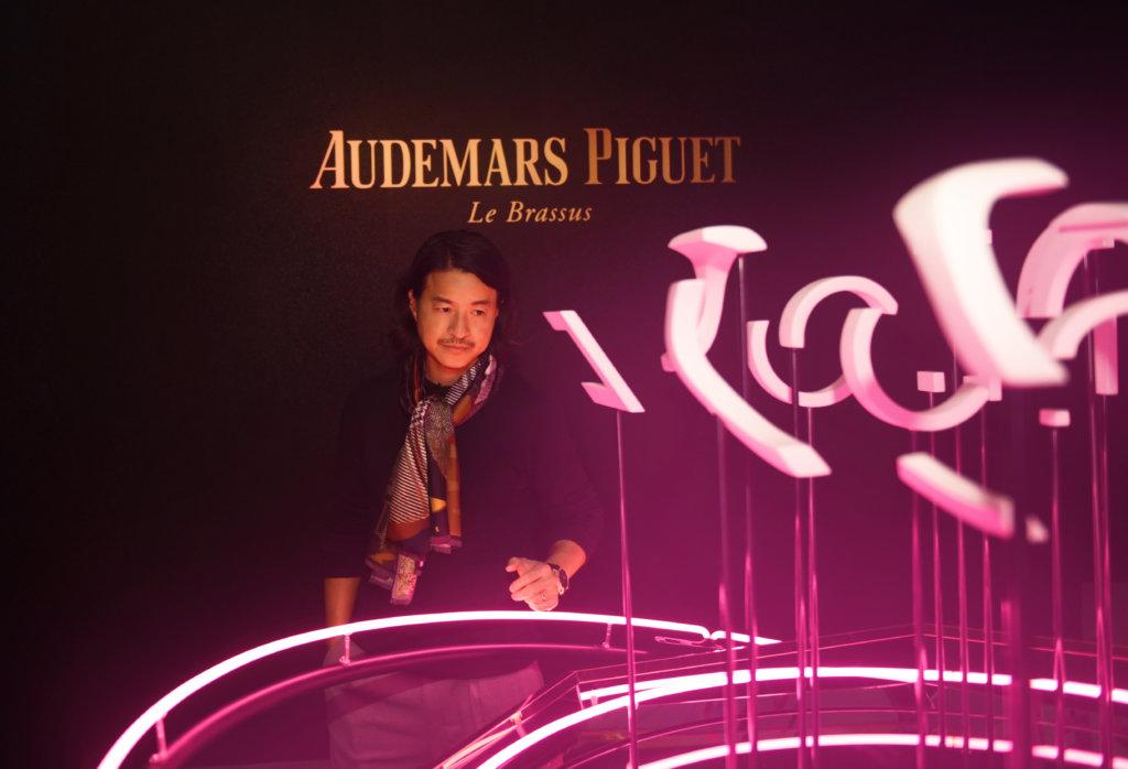 品牌特地從香港邀請能詮釋Code 11.59這套基因密碼的代表人物參與發布會,包括當代藝術家Michael Lau。