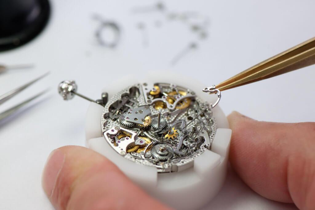 位於Le Sentier的BVLGARI  Manufacture de Haute Horlogerie專門製造品牌高級複雜腕錶及機芯。