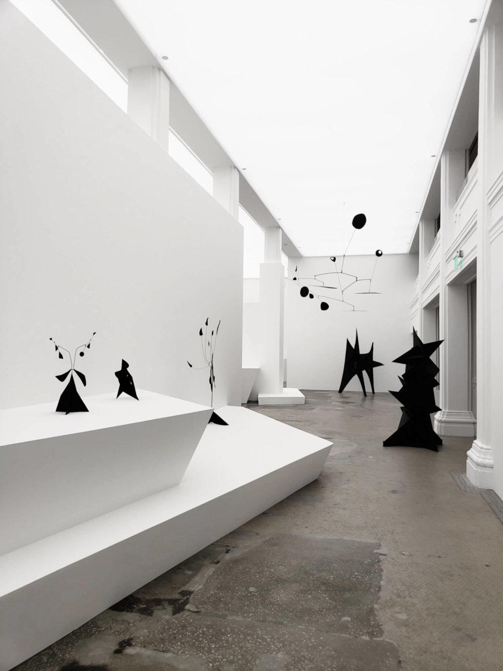 實習期間,Magic到Hauser & Wirth畫廊參觀他十分欣賞的藝術家Alexander Calder的作品展。