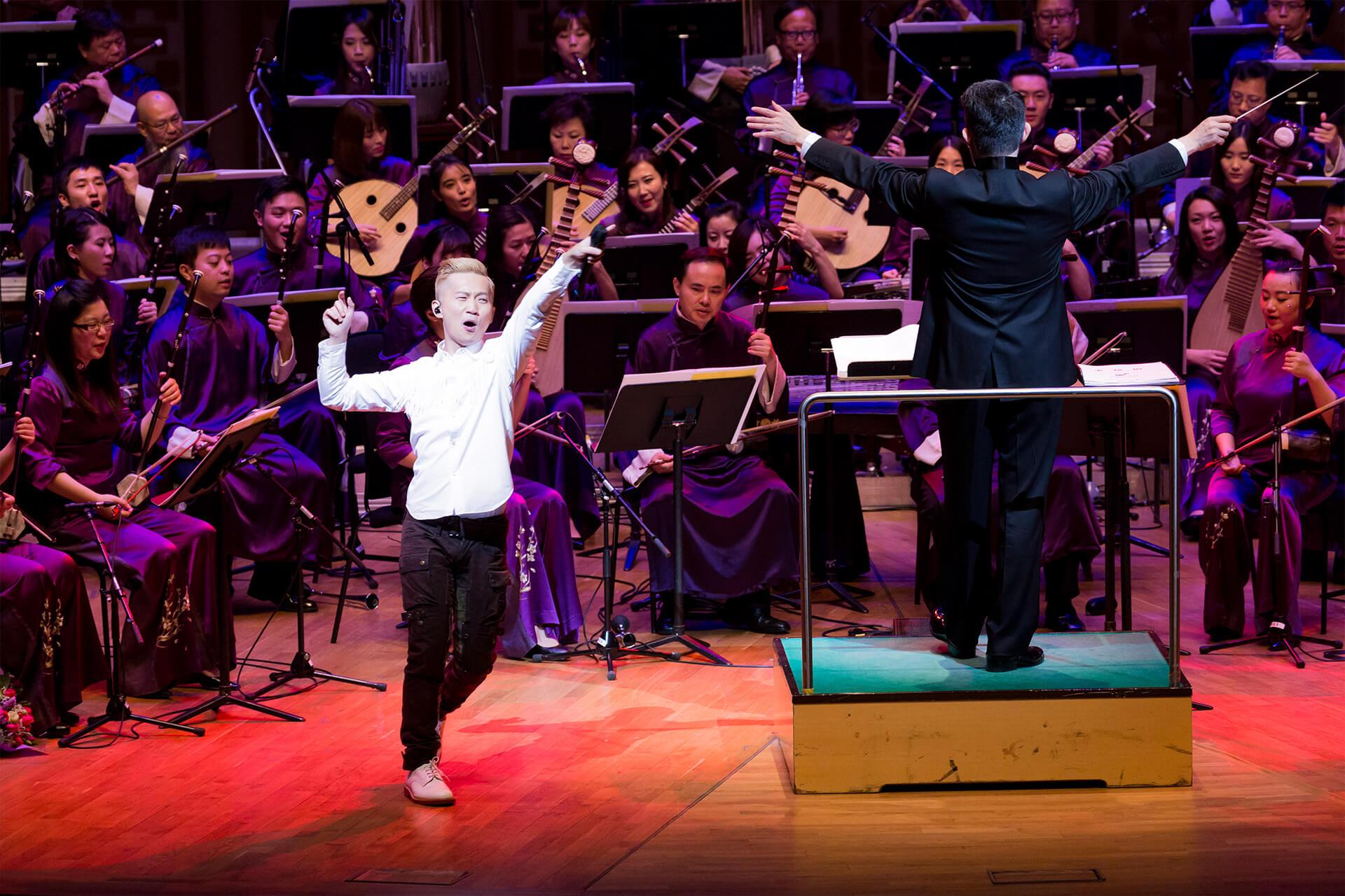 2015年,林一峰跟香港中樂團首次合作,四年後他決定要學懂一種中樂樂器,在台上演出。