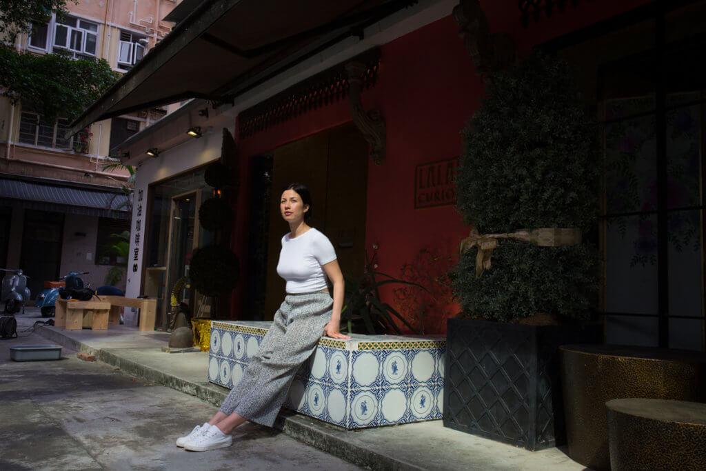 「回到美國後,因為沒有人跟我講廣東話而十分失落。記得有一次坐uber,司機是一個亞洲人,我忍不住不停跟他講廣東話,他一定覺得我很奇怪。但也是那時開始,我想我是時候回到香港。」