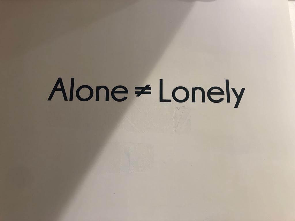 透過是次展覽,Mateusz想告訴我們獨處並不一定是壞事。