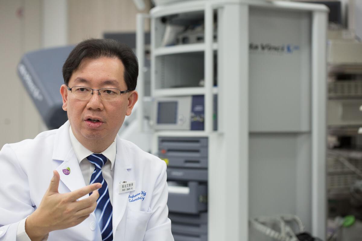 吳兆文表示,ISRG要求醫療機構需在購入達文西機械臂後,才可以進行培訓,以保持最佳的訓練效果。