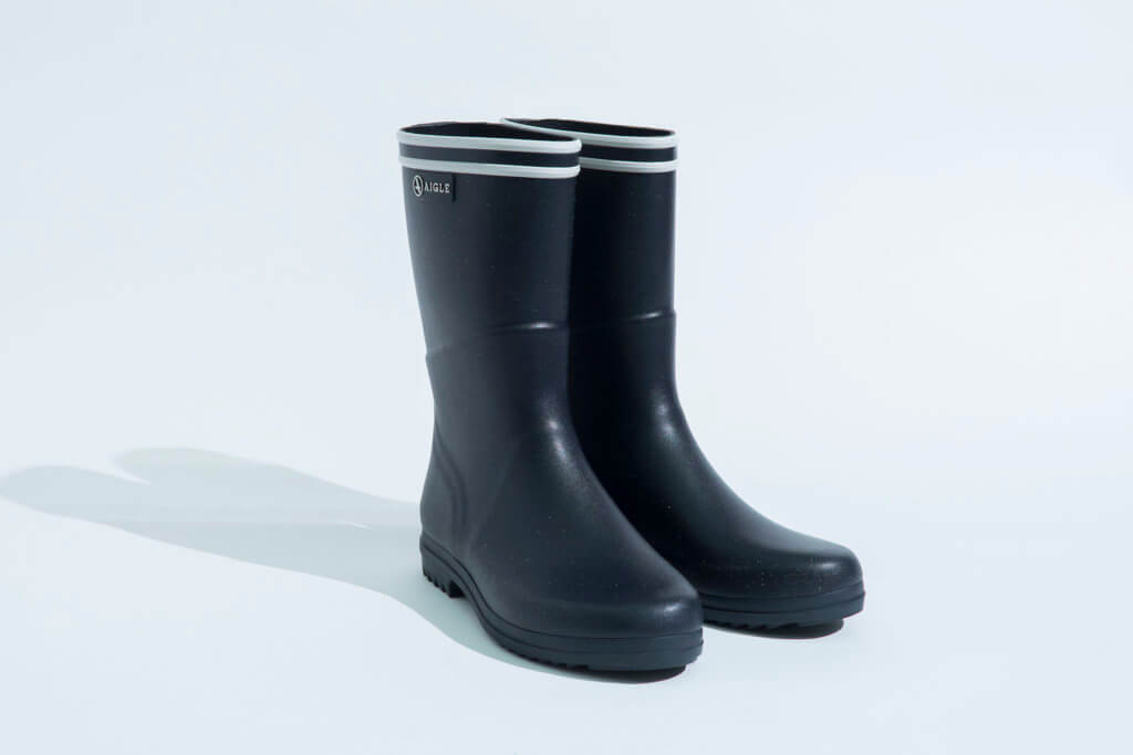Chanteboot Stripe Rubber Boots $1,280 by Aigle