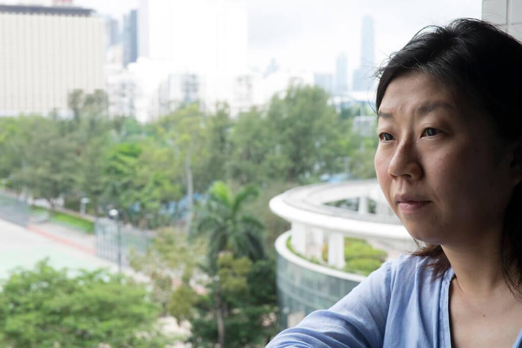 編劇莊梅岩自言近年照顧患病的父母,讓她切身體會六四難屬的處境。