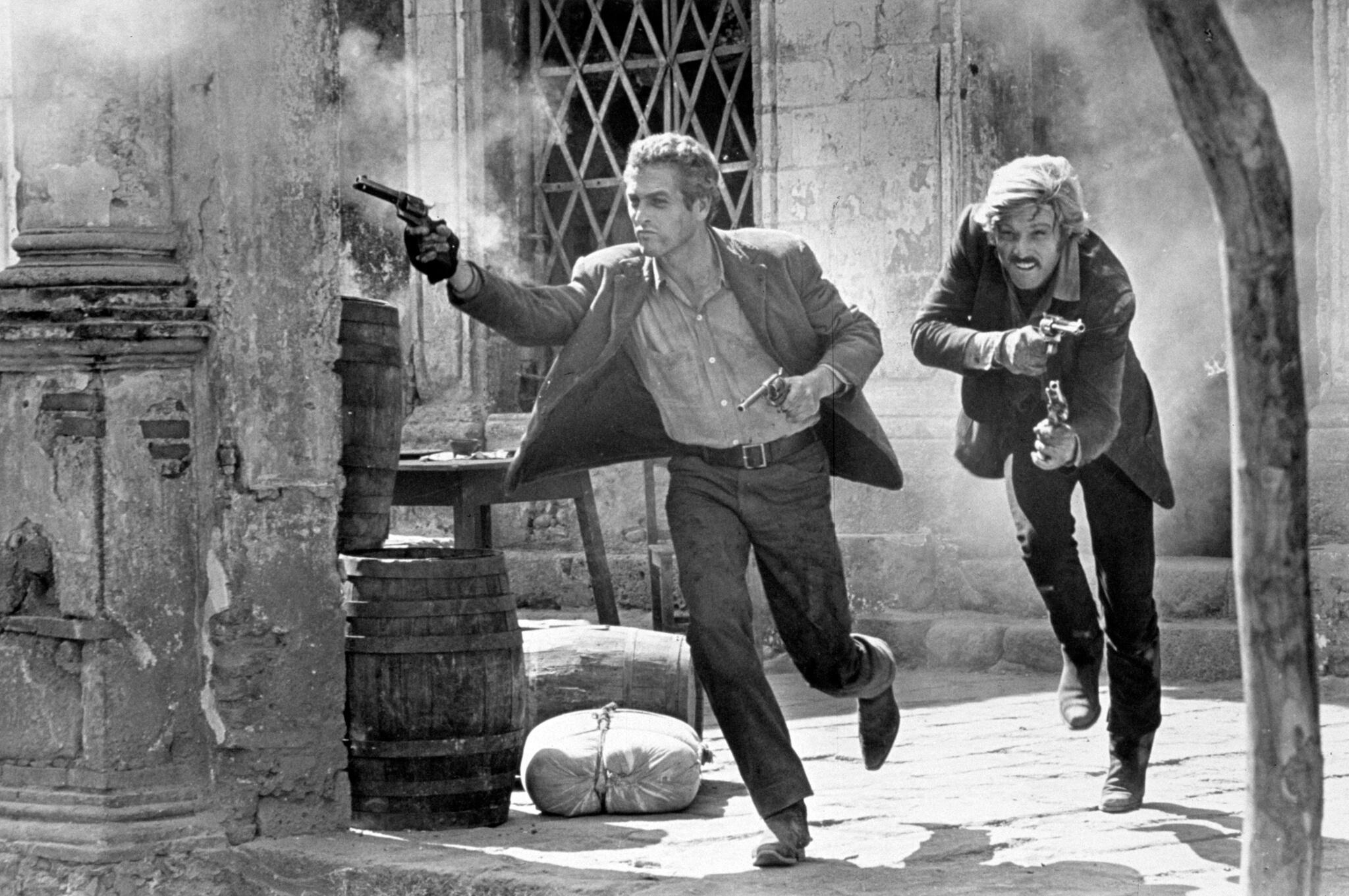 《神槍手與智多星》兩個主角走投無路一樣「寧死不屈」,死都要陀槍,終生偷呃拐騙。