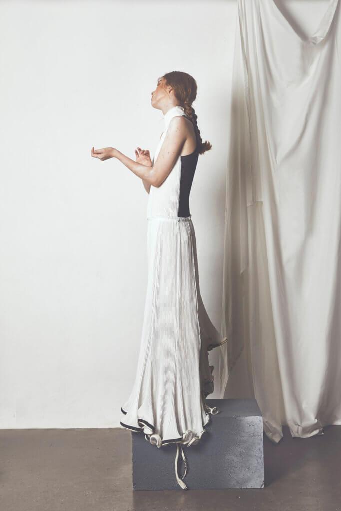 Halterneck dress $31,750 by Loewe