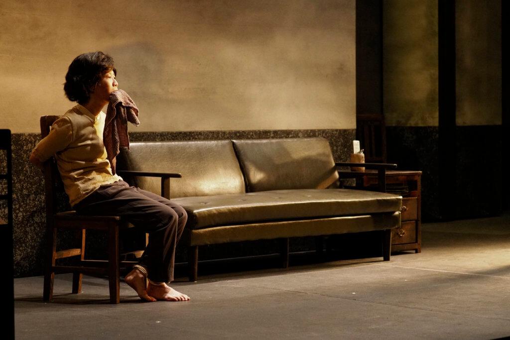 編劇莊梅岩選了一個最淡然也最沉重的角度:天安門母親。(Kit Chan攝)