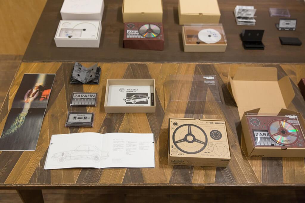 工作室舉行展覽,劃出一角度展設唱片設計過程。