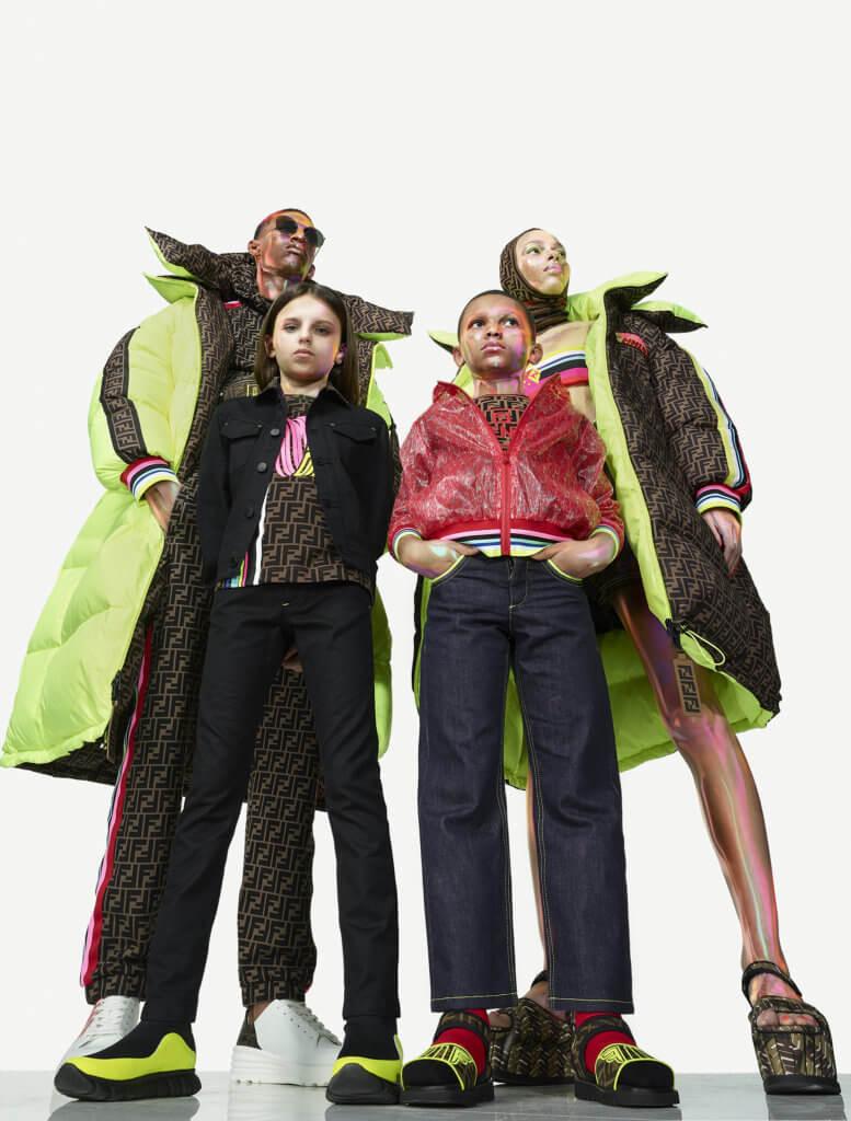 Selleria Roma/Amor別注系列同時推出男女裝、童裝及配飾。