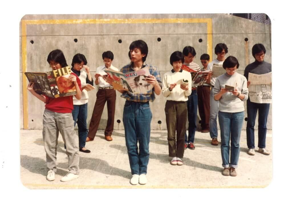 林指是次於西九自由空間的一系列活動,有如回歸校園,讓人再次享受學習的喜悅。